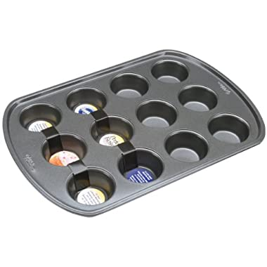 Wilton 2105-6787 Perfect Results Nonstick 12-Cup Mini Muffin Pan