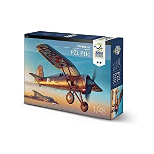 Arma Hobby 1/48 Scale PZL P.11c Expert Set - Plastic Model Building Kit # 40001 3