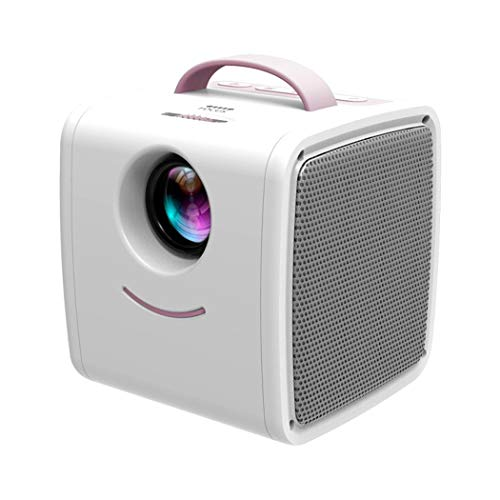 IEnkidu Mini Projector Portable LED LCD Projector, Full HD 1080P Supported, Compatible with PC Mac TV DVD iPhone iPad USB SD AV HDMI, Home Theater & Outdoor Projector Gifts for Kids