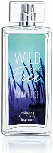 Wild and Free Indigo Fields Hydrating Hair & Body Perfume by Tru Fragrance & Beauty - Grapefruit, Star Fruit, Rose, Magnolia, Cedar, Musk, Amber - 3.4 oz