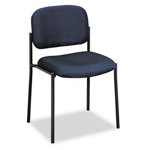Armless Guest Chair, 21-1/4 quot;x21 quot;x32-3/4 quot;, Navy