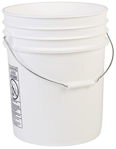 Hudson Exchange Premium 90 Mil HDPE Bucket with Handle, 5 gal, (Ice Bucket Pail)