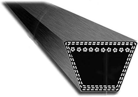 2005-2006 - 12.7x8 mm 12.7 mm Section 1//2 38/'/' 4LK78 : Courroie lisse trap/ézo/ïdale pour Tondeuses autoport/ées MTD Plateau F Longueur ext/érieure: 78-1981,20 mm N/° Origine: 754-04062 954-04062