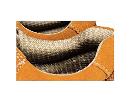 Tondo A Sport Scarpe Brown A Uomo Autunno da da Casual Punta Uomo Inverno Nastro in Pelle Primavera Casual Estate Colori qFw84xzq