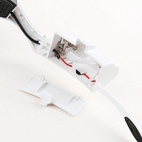 JYHJ Montado en la cabeza lupa relojería LED luz soporte relojería lupa reparación bb1f4b