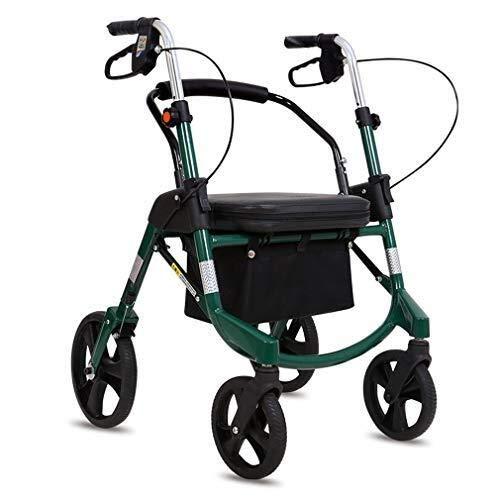 LCFF Andador Andador Plegable Walker Movilidad Carrito de ...