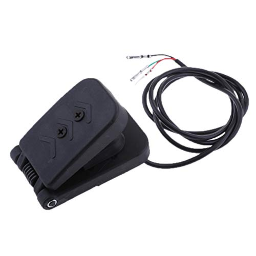 D DOLITY Foot Throttle Electric Tricycle Throttle Accelerator Foot Pedal Speed Control for Karting Electric Children ()