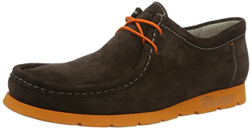 Sioux Grashopper-h-141, Mocasines para Hombre Braun (Testa-di-m./orange)