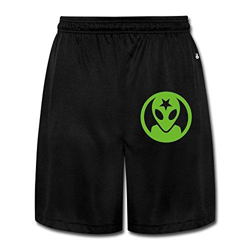 LunaCp Men's Alien Workshop Logo Performance Shorts Sweatpants XL Black