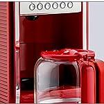 Macchina-da-caff-for-Uso-Domestico-Drip-Coffee-semiautomatica-Commerciale-istantanea-Rossa-Lostgaming