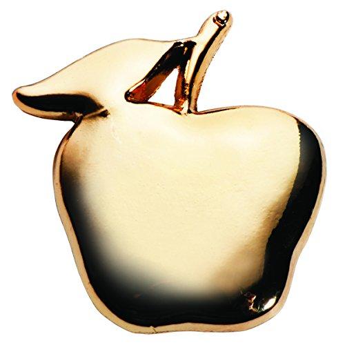 - TCDesignerProducts Gold Apple Teacher Appreciation Award Lapel Pin, 1 Pin