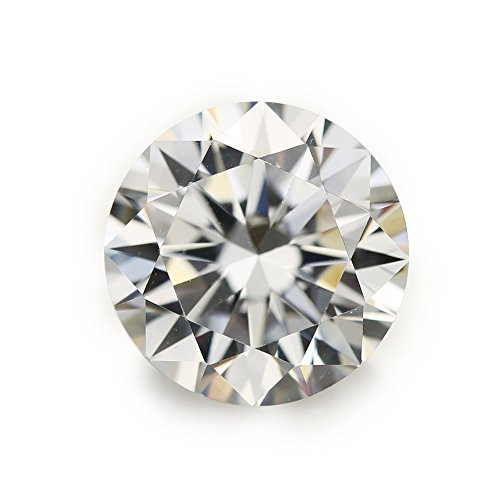 100pcs 5.0mm AAAAA Round Machine Cut Loose Cubic Zirconia CZ Stone Best Quality (5.0mm 100pcs)