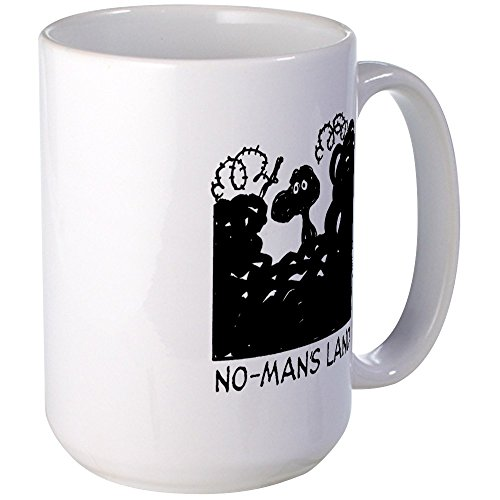 CafePress - No-Man's Land Large Mug - Coffee Mug, Large 15 oz. White Coffee Cup