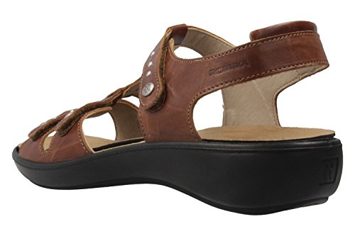 ROMIKA - Damen Sandalen - Ibiza 76 - Braun Schuhe in Übergrößen