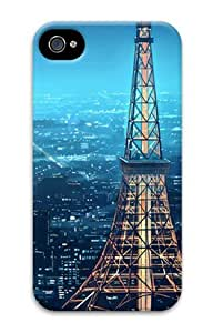 Tokyo Skyline for Iphone 4/4s 3D Case PC Hard Shell by Shariecover