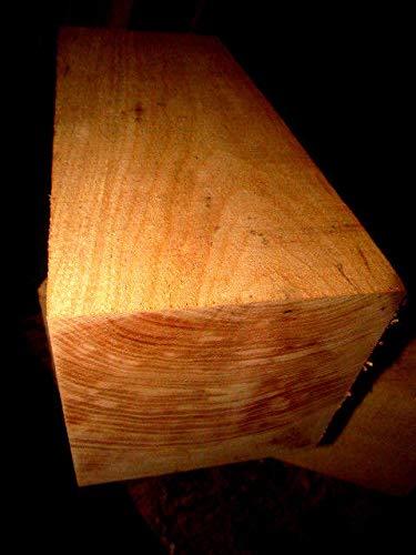 - ONE Large Maple Turning VASE Blanks Lathe Turning Wood Block 5 X 5 X 12''