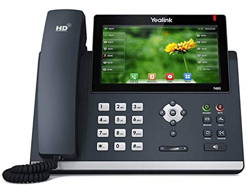 Yealink SIP-T48S Gigabit IP VoIP SIP Phone (Power Supply Not Included) (Yelling Power Supply)