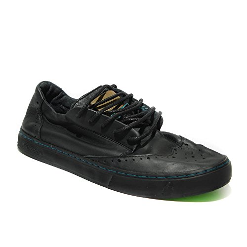 Satorisan Koa sneakers uomo pelle nero nuovo TG. 42