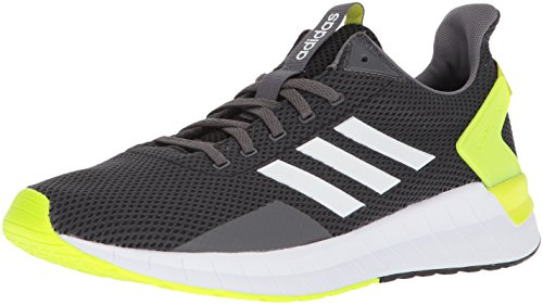 adidas Men's Questar Ride Running Shoe, Carbon/White/Electricity 14 M ()
