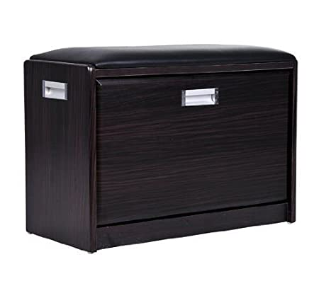 High Quality Wood Luxury Shoe Ottoman Storage Cabinet Box Chair
