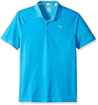 PUMA Boys Polo 578133-P, Boys, Polo, 578133, Bleu Azure, x Small