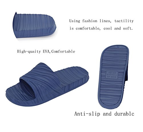 Bathroom Women Indoor and Men Slippers SBFnP8F