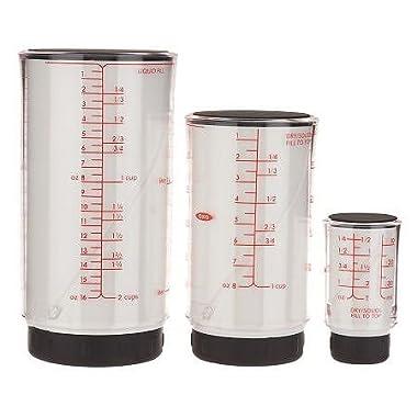 OXO GG 3 Piece Adjustable Measuring Cup Set