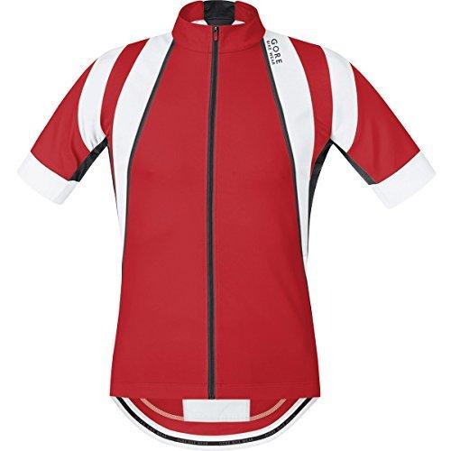 GORE BIKE WEAR Men's OXYGEN Jersey size: S red/black [並行輸入品]   B07K1Y8QBJ