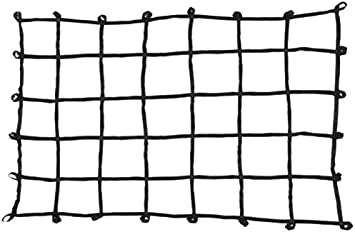 Mid Size Truck Bed Web Netting with Multi-Attachment Loops PROGRIP 901700 Cargo Net for Transport Storage and Vehicle Small 60 x 46