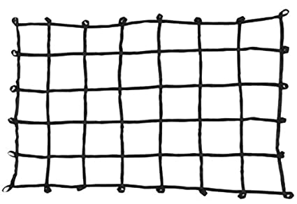 Large Size Truck Bed Web Netting with Multi-Attachment Loops 80 x 60 80 x 60 PROGRIP 901800 Cargo Net for Transport Storage and Vehicle