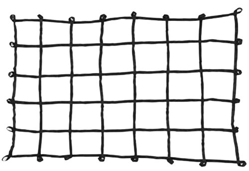 "PROGRIP 901800 Cargo Net for Transport Storage and Vehicle: Large Size Truck Bed Web Netting with Multi-Attachment Loops, 80"" x 60"""
