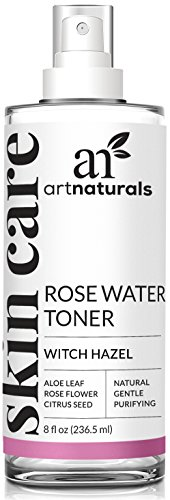 r Witch Hazel Toner, Natural Anti Aging Pore Minimizer for Face, Infused with Aloe Vera for Hydrating The Face, For All Skin Types, 8 oz. ()