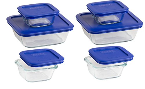 Pyrex Glass Lunch Containers Towels And Other Kitchen