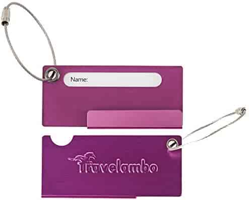 7fe2077ba054 Shopping 2 Stars & Up - Pinks or Purples - Luggage Tags & Handle ...