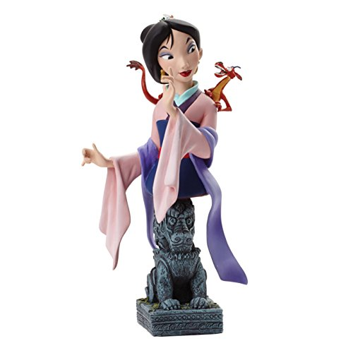 Grand Jester Studios Disney LE Mulan and Mushu Bust Figurine