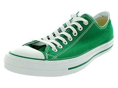 Converse Unisex Chuck Taylor A/S OX Green Basketball Shoe 10 Men US / 12 Women US