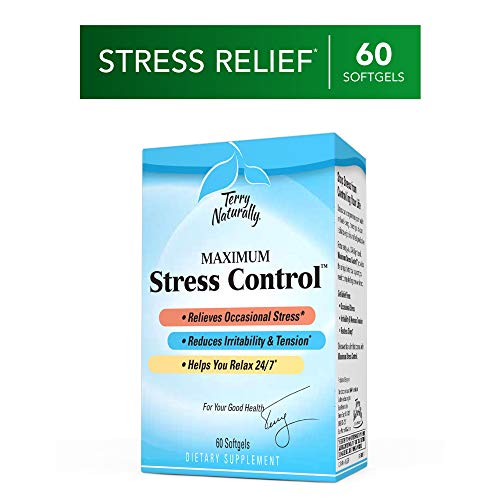 Terry Naturally Maximum Stress Control - 60 Softgels