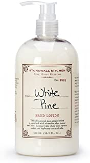 product image for Stonewall Kitchen Whie Pine Hand Lotion, 16.9 oz