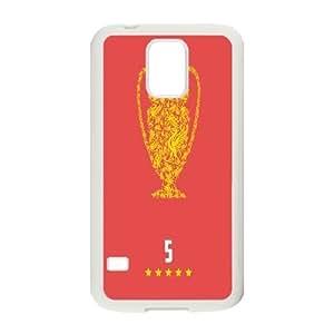 Liverpool Football Club Series, Samsung Galaxy S5 Cases, Liverpool Football Club Artworks Cases for Samsung Galaxy S5 [White]