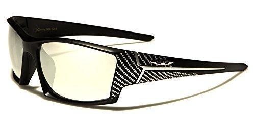 X-Loop Sportbrille Unisex Damen Herren Sport Sonnenbrille Kunststoff vwsKVeC
