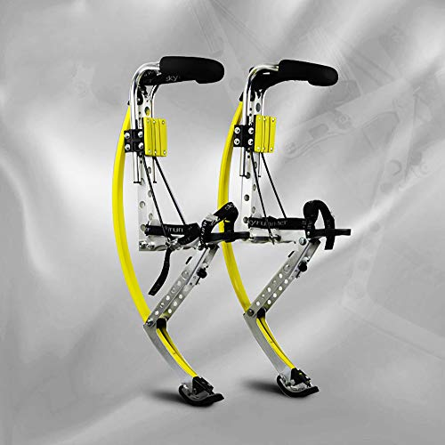 - LANGYINH Adult Children Kangaroo Shoes Jumping Stilts Bouncing Shoes Fitness Exercise,Yellow,adults50~70KG