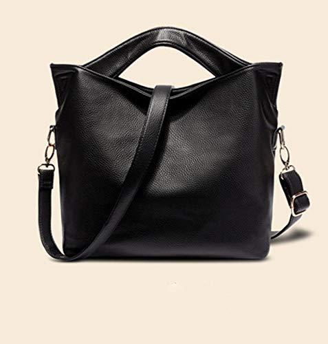 Female Bag Messenger Fashion Single Handbag Leather B Bag Bag Shoulder Retro Leather PU Hongge Lady aBFqUq