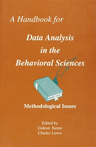 A Handbook for Data Analysis in the Behavioral Sciences: Statistical Issues