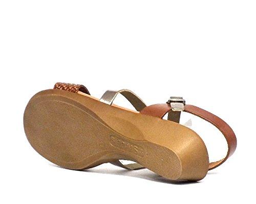 Sandalia piel Oh! my Sandals 3609 Cuero