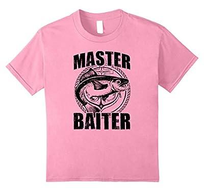 Master Baiter Funny Fishing T-Shirt for Men Women