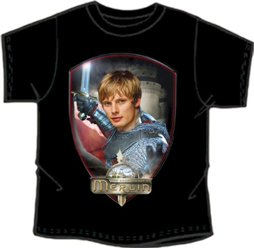[Merlin BBC Series Official 'Arthur' Exclusive Design Collectable T-shirt SMALL CHILD] (Merlin Costumes)