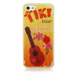 MOFY-Patr—n Guitar Soft Case de silicona para iPhone 4/4S