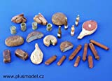 1 35 diorama set - Plus Model 1:35 Meal Set Resin Diorama Accessory #075