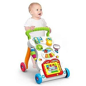 Andador Centro de Actividades Walker bebé con música ligera Mini ...