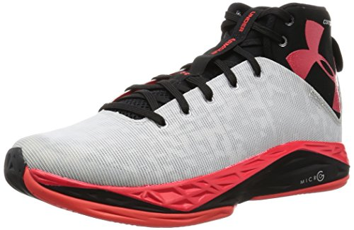 Under Armour Mens UA Fireshot Basketball Shoes 10.5 White